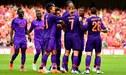 Liverpool despachó por 5-0 al Napoli de Carlo Ancelotti [VIDEO]