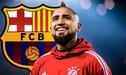 El calendario de la presentación de Arturo Vidal en el FC Barcelona