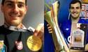 Iker Casillas: le regalan pisco peruano por conseguir la Supercopa de Portugal [FOTO]