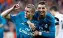 """Toni Kroos sobre ausencia de Cristiano Ronaldo: """"Será difícil compensar los 50 goles que hacía en Real Madrid"""""""