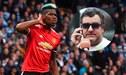 Paul Pogba ya envió a su agente a Manchester para negociar su salida al Barcelona