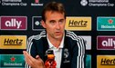 Julen Lopetegui habló sobre el futuro de Luka Modric y Mateo Kovacic