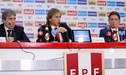 FIFA destaca la renovación de Ricardo Gareca con la Selección Peruana