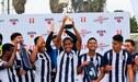 Alianza Lima salió campeón del Torneo Apertura Sub-17 tras ganar a Cristal