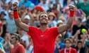 Rafael Nadal conquistó el título en el Másters 1000 de Toronto al vencer al griego Tsitsipas