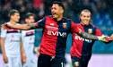 Gianluca Lapadula, clave en el fichaje de Diego Laxalt por el AC Milan