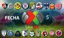 Liga MX 2018: programación y horarios de los partidos de la fecha 5 del Torneo Apertura 2018