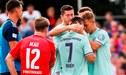 Robert Lewandowski salva del ridículo al Bayern Múnich en la Copa de Alemania