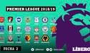 Premier League: Resultados y tabla de posiciones tras la jornada 2