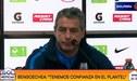 """Pablo Bengoechea: """"Alianza Lima tiene que mejorar para salir primero"""""""