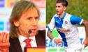 """Ricardo Gareca: """"Jean Pierre Rhyner puede ser convocado en cualquier momento a la selección"""" [VIDEO]"""