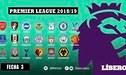 Premier League: Programación de la fecha 3 del torneo inglés