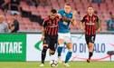 Napoli remontó y venció 3-2 al AC Milan por la Serie A [VIDEO]