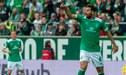 Claudio Pizarro y el gol que perdió en su cuarto debut con el Werder Bremen