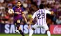 Barcelona venció 1-0 a Valladolid con Lionel Messi por la Liga Santander [RESUMEN Y GOLES]