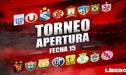 Torneo Apertura 2018: resultados y tabla de posiciones EN VIVO de la última fecha