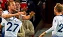 Tottenham pasó por encima al Manchester United y lo goleó por 3-0 en Old Trafford [RESUMEN Y GOLES]