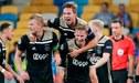 Ajax concretó su retorno a la fase de grupos de la Champions League tras empatar con Dinamo [VIDEO]