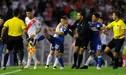 La curiosa razón de la pelea entre 'Ricky' Centurión y Enzo Perez en la Copa Libertadores [VIDEO]
