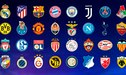 Real Madrid, Barcelona y Juventus ya conocen a sus rivales en la fase de grupos de la Champions League