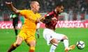 AC Milan vs Roma EN VIVO: 'rossoneri' ganan 1-0 en electrizante partido por la Serie A