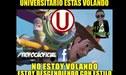Universitario, víctima de memes tras agónica derrota ante Melgar [FOTOS]