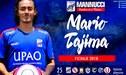 Mannucci anunció la contratación de Mario Tajima para lo que resta de temporada
