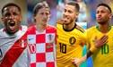 EN VIVO Fecha FIFA: sigue todos los partidos y resultados de los amistosos internacionales EN DIRECTO