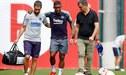 Malcom sufre lesión en pleno entrenamiento de Barcelona