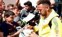 Neymar se une a la concentración de Brasil y recibe bienvenida de fanáticos [VIDEO]