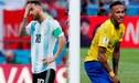 """Mundialista brasileño asegura que """"Messi y Neymar no hicieron lo que se esperaba"""""""