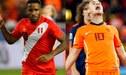 ¿Quién es el favorito para el Perú vs Holanda?