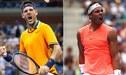 Del Potro vs Nadal EN VIVO: 5-5 en primer set del partidazo por semifinal del US Open 2018