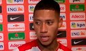 """Ray Sandoval y su reflexión tras el Perú vs Holanda: """"Ingresé en un momento complicado"""""""