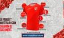 Se presentó la camiseta alterna de la Selección Peruana [FOTO]