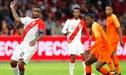 Postales de la derrota que sufrió Perú ante Holanda por 2-1 en amistoso por fecha FIFA [FOTOS]