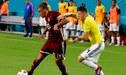 Colombia remontó y ganó 2-1 a Venezuela en amistoso por fecha FIFA