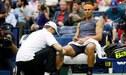 """Rafael Nadal tras retirarse del partido: """"Odio retirarme, pero seguir así hubiera sido demasiado"""""""