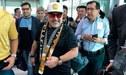 Diego Maradona llegó a México y fue recibido en medio de gran expectativa [FOTO]