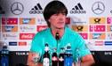 """Löw sobre la Selección Peruana: """"El equipo juega de una forma agresiva"""""""