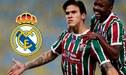 Dirigente de Fluminense aclara si hay fichaje de Real Madrid a Pedro Guilherme