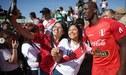Hinchas se juntaron en Mingolsheim para alentar a Perú durante los entrenamientos [FOTOS]