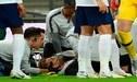 Terrible choque entre Luke Shaw y Dani Carvajal que deja al inglés inconsciente [VIDEO]