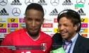 Jefferson Farfán y la peculiar broma que le hizo a Manuel Neuer tras partido ante Alemania [VIDEO]