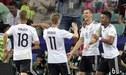 Selección de Alemania confirmó su once para enfrentar a Perú