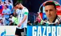 Técnico de Argentina revela por qué nadie puede usar la '10' de Lionel Messi