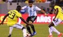 Argentina vs Colombia: 'Gauchos' empataron 0 - 0 ante 'cafeteros' en amistoso FIFA