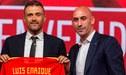 Presidente de la Real Federación Española de Fútbol elogió a Luis Enrique