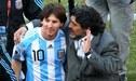 Maradona nunca la hizo como técnico