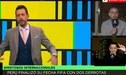 Panelistas de DirecTV protagonizan tensa pelea con periodista peruano por la Selección [VIDEO]